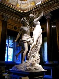 Apollo e Dafne, Gian Lorenzo Bernini, 1625, Galleria Borghese, Roma